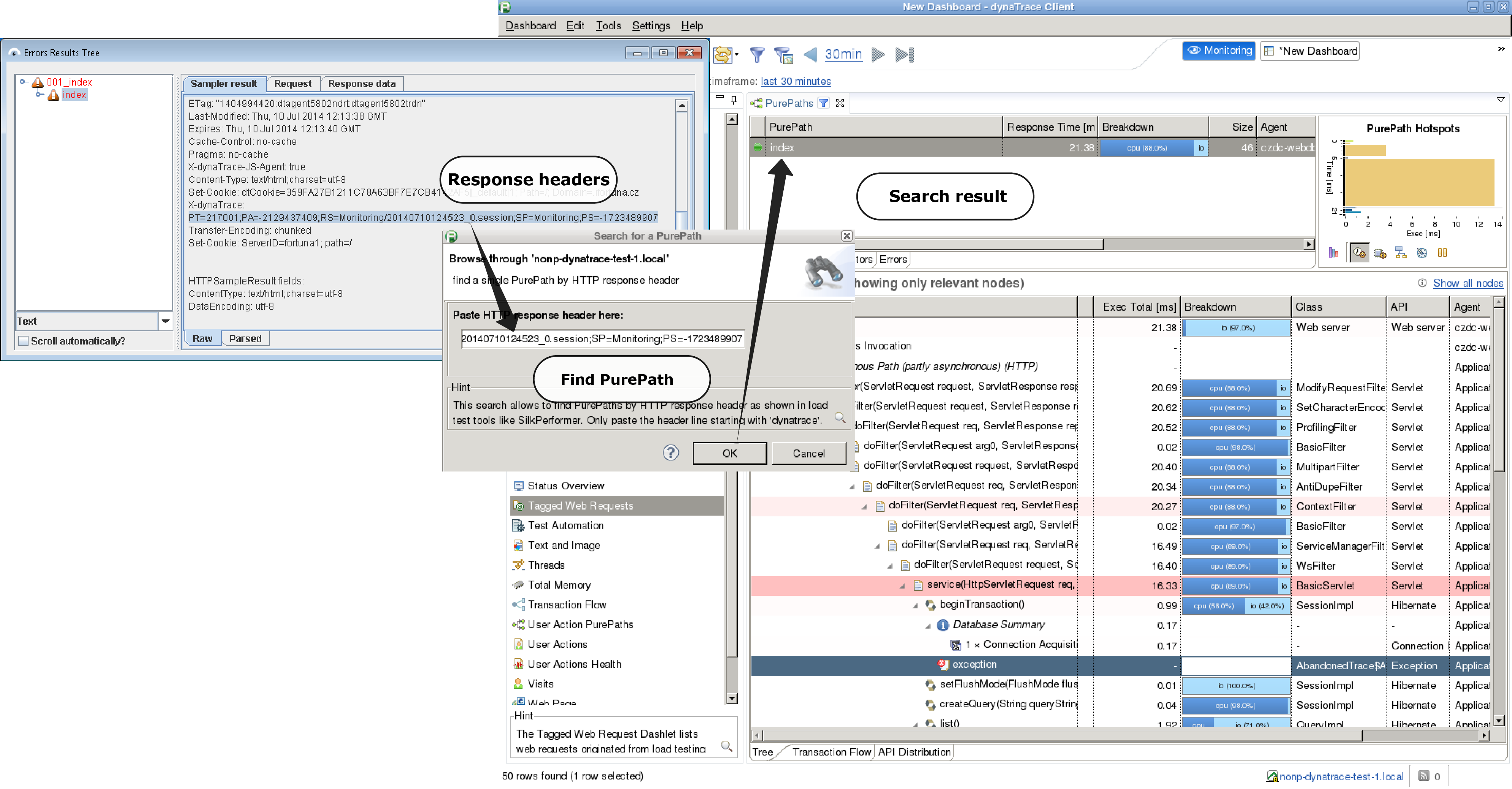 SmartMeter io + Dynatrace: Find Bottlenecks in Your System