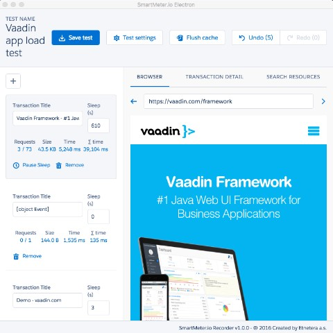 Testing performance of Vaadin apps: Step by step tutorial