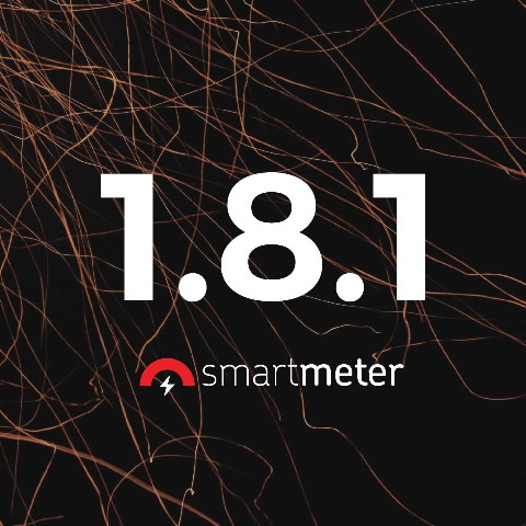 What's new in SmartMeter.io 1.8.1