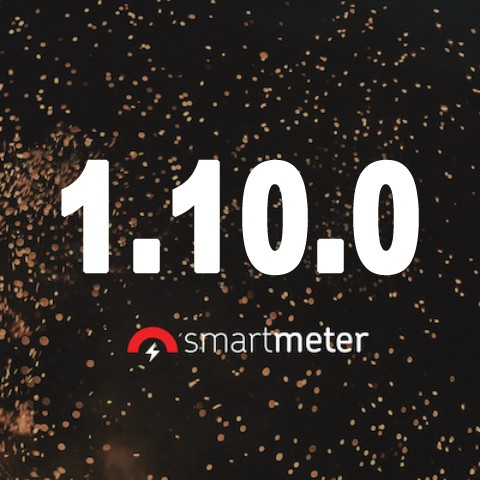 What's new in SmartMeter.io 1.10.0